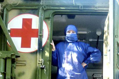 Мобильные пункты санобработки устанавливают спасатели на Ямале