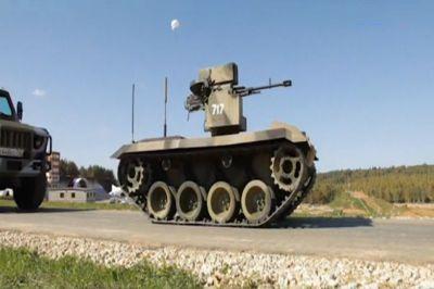 Демонстрация усовершенствованной модели боевого робота состоится в конце года