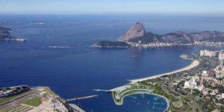 В олимпийской бухте в воду упал стапель, установленный для парусных регат
