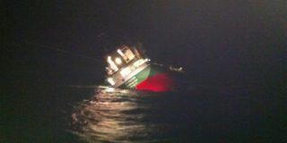 Сухогруз «Альфа» терпит крушение в Японском море