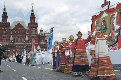 Торжественная программа Дня города стартовала в столице