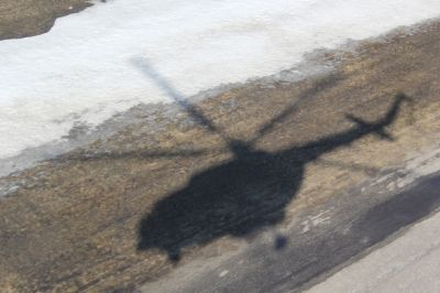 Вертолет МЧС рухнул на землю из-за отказа двигателя