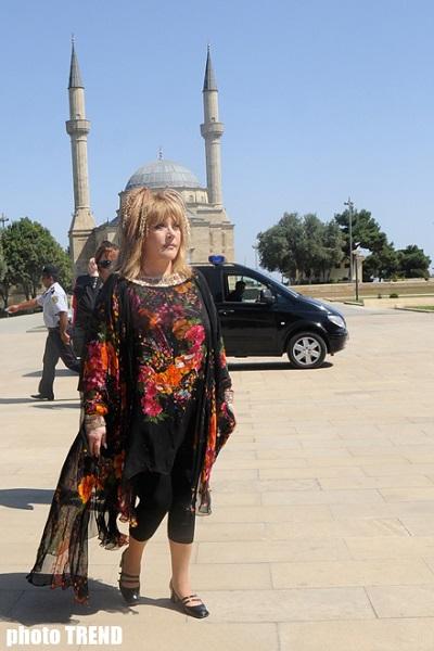 Алла Пугачева в Баку
