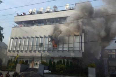 Вчера весь день телеканал «Интер» провел в ожидании нового нападения на них радикально настроенных активистов