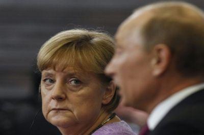 Меркель готовит России новые санкции, теперь из-за Сирии