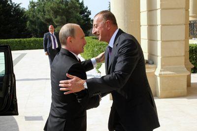 Президент России поздравил «надежного друга» РФ Ильхама Алиева с юбилеем