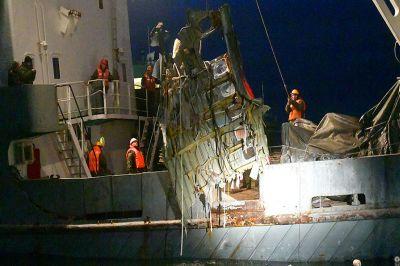 Работы по поиску обломков самолета и погибших людей с разбившегося лайнера Ту-154 в основном закончены