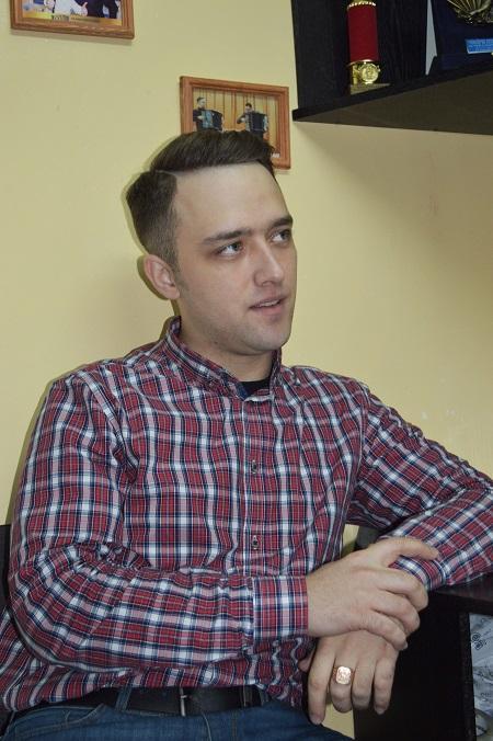 баянист Александр Сироткин