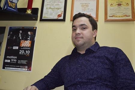 баянист Андрей Битюцкий