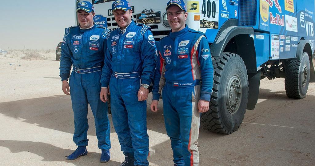 Экипаж Николаева стал победителем 10-го этапа «Дакара» взачёте фургонов