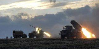 Песков сожалеет об активной фазе военных действий в Донбассе, а тем временем «Град» гатит по Ясиноватой