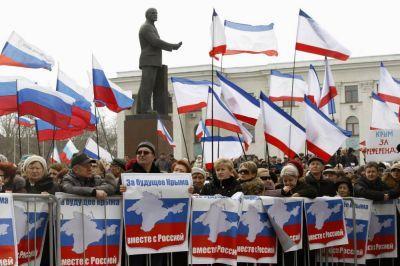 """Заявление лидера французского """"Национального фронта"""" Марин Ле Пен о законности присоединения Крыма к РФ вызвало возмущение у власти в Украине"""