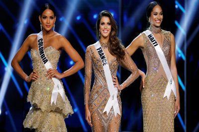 На конкурсе «Мисс-Вселенная» самой красивой женщиной была признана француженка Ирис Миттенейр