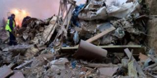 Число жертв, извлеченных из-под обломков упавшего самолета, уже составило 37 человек