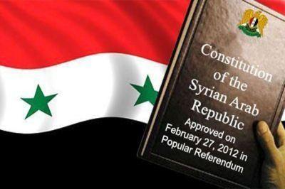 МИДРФ: русский проект Конституции Сирии— это приглашение кдискуссии