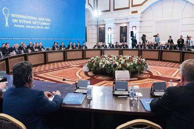 ВАстане проходит совещание знатоков оперативной группы поСирии
