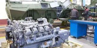 Двигатели на украинские БТР часто закупают в России