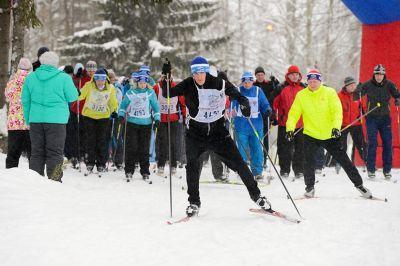 Президент поздравил участников со стартовавшими по всей стране лыжными гонками