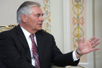Лавров поздравил Тиллерсона с назначением и выразил надежду на улучшение отношений между странами