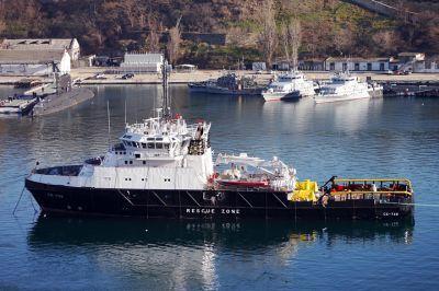 Российский военный флот, базирующийся на Черном море, пополнился новым изобретением – аппаратом «Марлин-350»