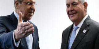 Лавров и Тиллерсон обсудили по телефону ракетный удар армии США в Сирии