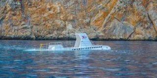 Туристов в Анталье будут катать на миниатюрной подводной лодке