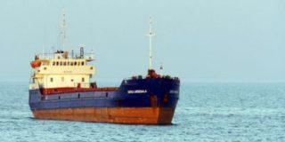 В акватории Черного моря идет спасательная операция. Сухогруз «Герои Арсенала» ушел под воду