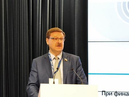 Председатель Комитета Совета Федерации Федерального Собрания России по международным делам Константин Косаче
