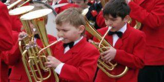 Дети участвовали в фестивале духовых оркестров
