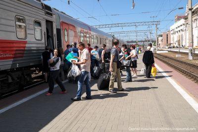 В праздничные дни в Крыму начала работать система доставки пассажиров на полуостров по единому билету