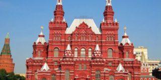Парадный вход музея истории на Красной площади скоро откроют для посетителей