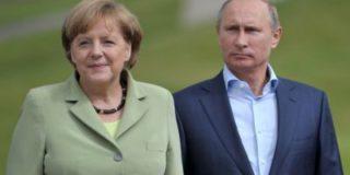 Началась встреча президент РФ Владимира Путина и немецкого канцлера Ангелы Меркель