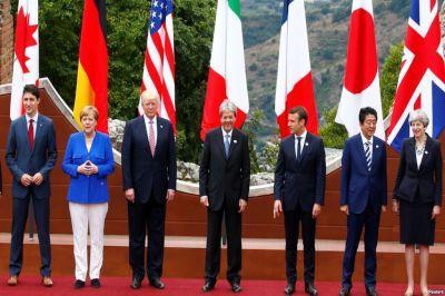 На саммите Большой Семерки решили продлить санкции в отношении РФ