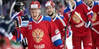 Еще одна удачная игра сборной России по хоккею