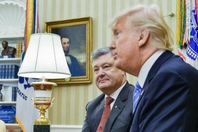 Порошенко выступил адвокатом Трампа, заверив журналистов, что у их президента не может быть связей с Россией
