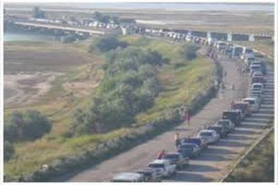 ВКрыму сообщили отуристической блокаде полуострова состороны государства Украины