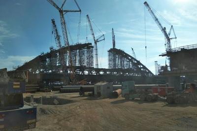 Строители Крымского моста подошли к финальной стадии строительства