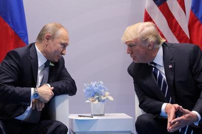 Путин иТрамп спорили о«российском вмешательстве» целых 40 мин.