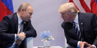 Личная встреча Путина и Трампа окончилась несколько минут назад