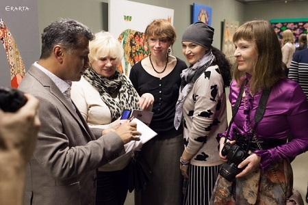 Азербайджанский художник Вугар Мурадов