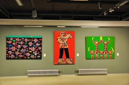 выставка работ Азербайджанского художника Вугара Мурадова