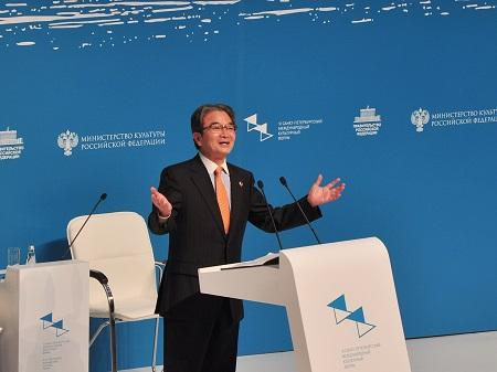 Риохи Миято – глава делегации Японии