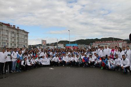 международного молодежного фестиваля в Сочи