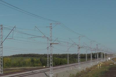 По новому участку дороги, в обход Украины, пойдут современные двухуровневые поезда
