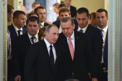 Завершились переговоры Владимира Путина и Реджепа Эрдогана