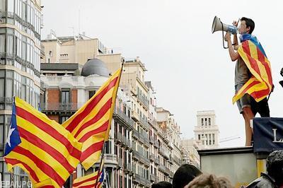 Испанский министр увидел влияние России в Каталонии