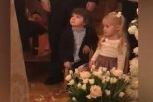 Лиза и Гари Галкины присутствовали на венчании своих родителей