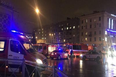Магазин «Перекресток» в Санкт-Петербурге стал новой мишенью для террористов