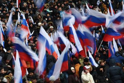 """Путин в """"Лужниках"""" гарантировал народу яркие победы и счастливую жизнь для будущих поколений"""
