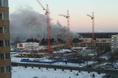 Взрыв бытового газа и последовавший за ним пожар стали причиной гибели двух человек.
